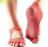 De kleurrijke Sokken van de Yoga van het Ontwerp In het groot