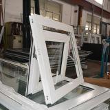 Ventana de aluminio revestida del toldo del perfil del polvo de la alta calidad Kz347