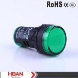 Lampadina di segnalazione del foro 16~ 22mm di Mouting di serie di RoHS Hbad16 del Ce/lampada pilota/indicatore