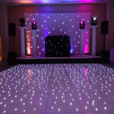 16PCS極度の明るいLEDのStarlitダンス・フロア