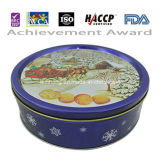 250g Blue Tin Butter Cookie para Christmas Day