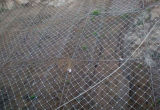 Rockfall Stabilization NettingのためのGalfan Coating Steel Wire Mesh