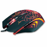 6 boutons 2400 Dpi Adjustable Optical USB Wired Gaming Mouse avec 6 Colors Breathing DEL