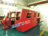Chapa de aço do CNC do feixe quente da fibra da maquinaria da estaca do metal das vendas ou cortador da placa