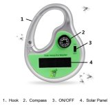 Hook Compass Outdoor Pest Repellerの小型Portable Solar Powered Ultrasonic Mosquito Repellent Killer