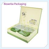 Rectángulo de empaquetado de la alta calidad de la cartulina de té del regalo de encargo del conjunto