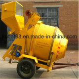 Hydraulic Tipping Hopper Rdcm350-8ehの350L Electric Concrete Mixer