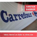 La promoción respetuosa del medio ambiente imprimió la bandera modificada para requisitos particulares PE/Paper/Fabric