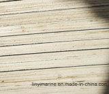La película hizo frente a la madera contrachapada con base de la madera dura, pegamento de WBP