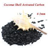 Carbón activado shell del coco para el tratamiento de aguas