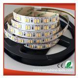 極度の明るさSMD5630は可変性LEDストリップカラーCCT二倍になる