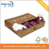 Personalizado Kraft camisa / sombrero / paños de embalaje de la caja (QYCI1520)