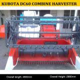 Alta qualità di 60HP Kubota DC60 Small Combine Harvester, Rice Combine Harvester DC60