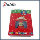 メリークリスマス一義的なデザインカスタムロゴによって印刷されるペーパーWindows袋