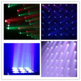 Matrix 12W CREE 9PCS RGBW Beam lavado LED cabezas móviles