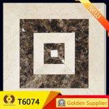 600X600mm大きいデザインホテルの床タイルの合成の大理石のフロアーリング(T6075)