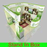 Carrinhos de indicador de anúncio reusáveis Eco-Friendly acrílicos da cabine da exposição