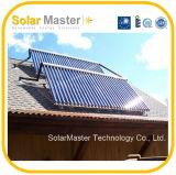 Nuovo collettore termico solare della valvola elettronica di disegno 2016
