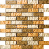 Strips Shapeの2016贅沢Metallic Glass Mosaic