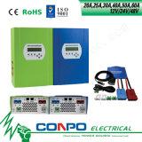 20A, 25A, 30A, 40A, 50A u. 60A, 12V/24V/48V, MPPT Solarcontroller