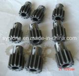 CNC機械化の鋼鉄ギヤシャフト