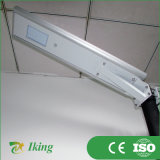 10W Outdoor IP65 Integrated Todo no diodo emissor de luz Street Light de Um Solar