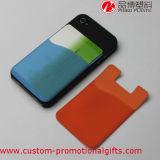 Suporte de cartão adesivo da etiqueta do telefone móvel de cartão de banco