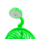 Ventilador portable del escritorio del botón de la lámpara/de interruptor del tacto LED del fuerte viento mini