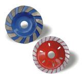 Grinding Granite를 위한 다이아몬드 터보 Cup Wheel