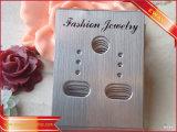 Cartes s'arrêtantes de boucle d'oreille de papier de bijoux imprimées par logo d'usine