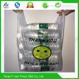 Le T-shirts de achat imprimé par HDPE vous remercie des sachets en plastique