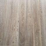 Plancher en bois plein de chêne blanc d'antiquité de fournisseur de Guangzhou