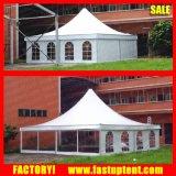 Водоустойчиво, UV сопротивляйте легкой установите шатер сени Gazebo для приема случая венчания