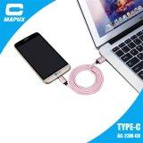 Tipo novo cabo do projeto do USB de C