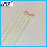 Cinta plástica de nylon do branco de Manufacturewholesale 8*200mm da cinta plástica de Zhejiang com amostra livre