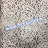 Nuovo merletto del cotone del ricamo di modo 2016