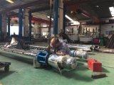 Transportador de tornillo del acero inoxidable con eficacia alta