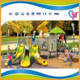 Campo da giuoco esterno dei bambini della strumentazione del parco di divertimenti da vendere (A-6501)