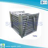 Barrière en aluminium de commande de foule de grossiste de Sgaier/barrière de Mojo barrière de foule