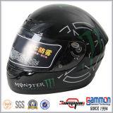 Шлем /Motorbike /Scooter мотоцикла полной стороны с холодным Tattoo (FL105)