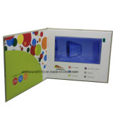 7inch affissione a cristalli liquidi Video Invitation Card Video in Print Video Book Video Brochure (ID7001)