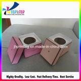 Cuadrado decorativo personalizado de cartón de papel de velas cajas de embalaje