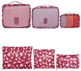 Ultimo organizzatore di corsa dei bagagli del sacchetto della maglia di memoria di modo 6PCS di disegno