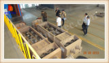 Europäischer Standard-Lehm-Mischer für den Ziegelstein, der Pflanze bildet