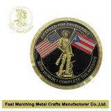 Монетка сувенира обеих сторон с специальным краем