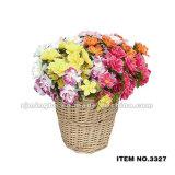 3327 fleurs artificielles en plastique artificielles de la Chine de fleurs directes d'usine vendent des fleurs en gros artificielles