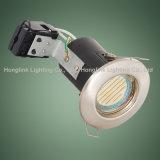 Luz clasificada ahuecada Halogen/LED blanca del fuego fijo del techo GU10 abajo