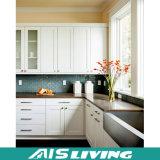 Mobília clássica dos gabinetes de cozinha do PVC de Sharker do estilo (AIS-K033)