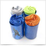 Serviette de glace en microfibre de bonne qualité, serviette de refroidissement, serviette de sport