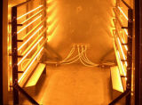 Lâmpada infravermelha da resposta rápida para o forno a revestimento de secagem